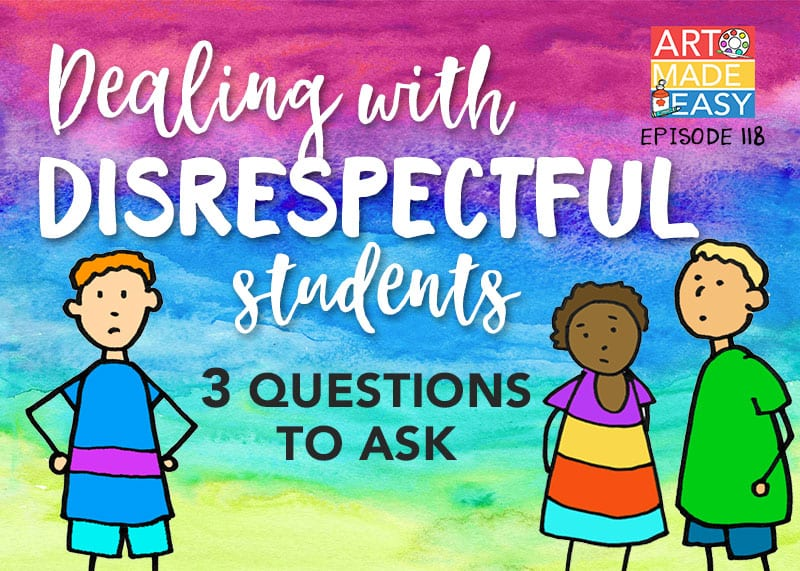 Dealing with Disrespectful Students: AME 118 | Deep Space