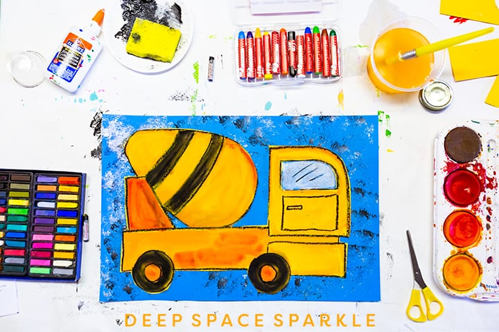 How to Draw Big Rigs: An Art Lesson from Deep Space Sparkle