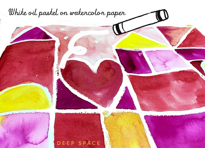 Mary Blair Abstract Art Deep Space Sparkle