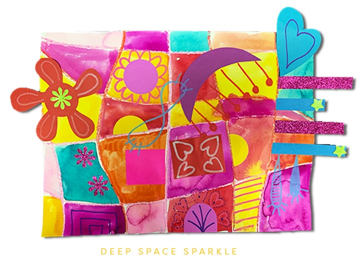 mary Blair abstract art Valentines Project for Kids