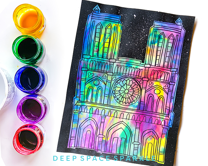 Watercolor Projects Archives Deep Space Sparkle