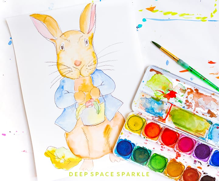 Peter Rabbit Art Project