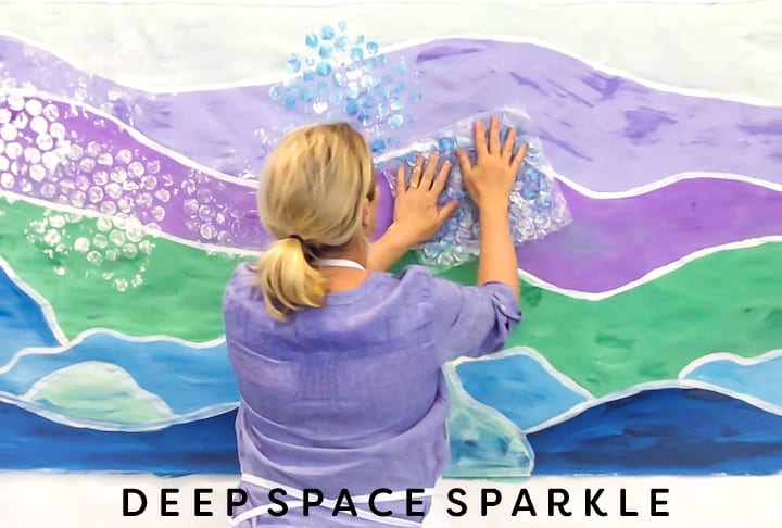 Adding texture to Marine Mural background