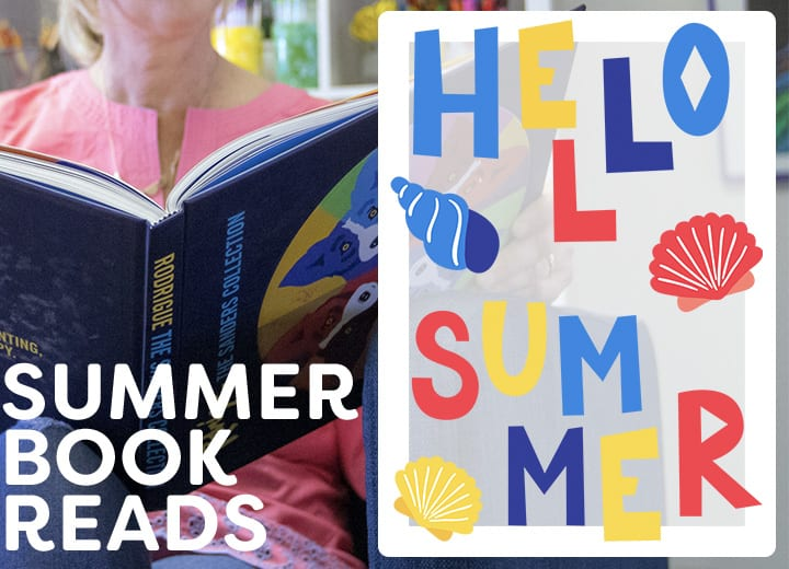 Deep Space Sparkle's Patty Palmer selects her summer reading list