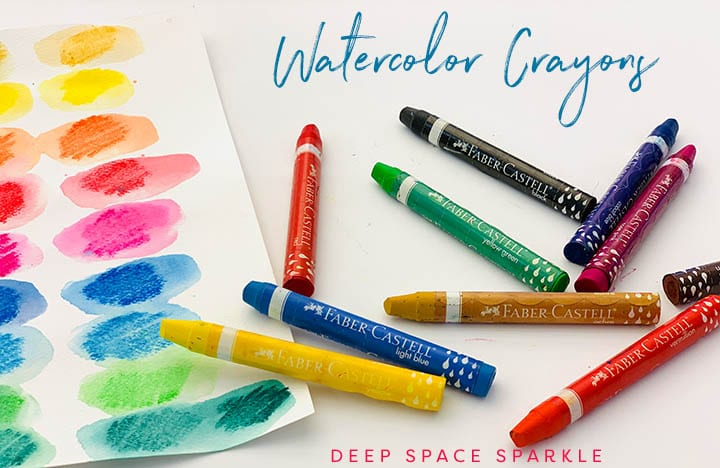 Watercolor crayons- top 5