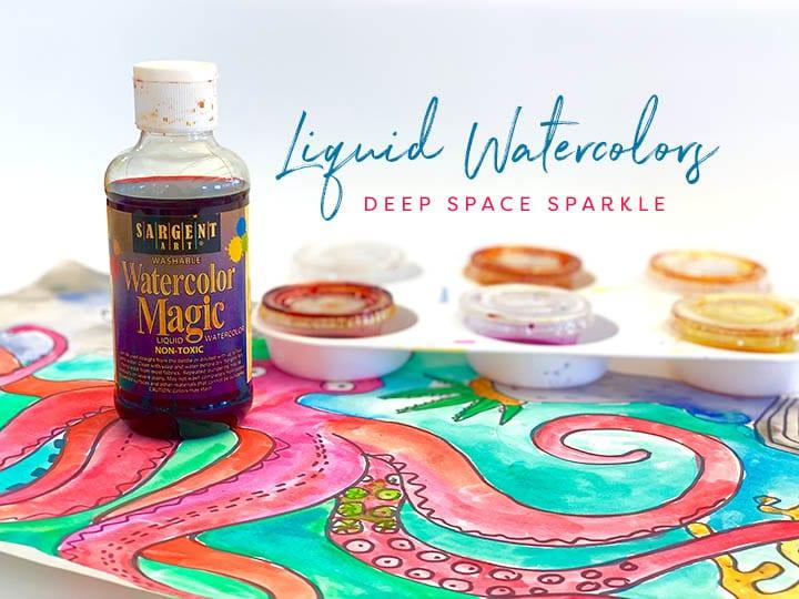Liquid watercolor- top five