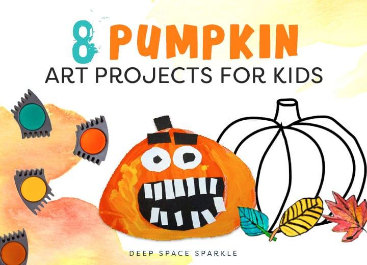 7 pumpkin art projects for kids