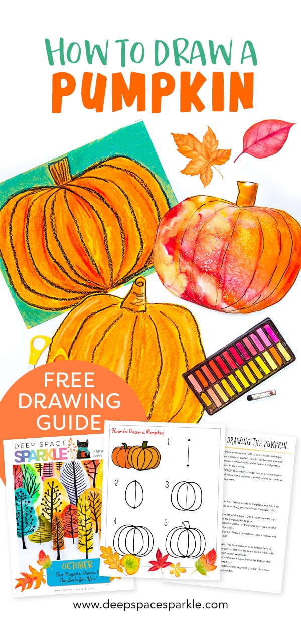 guided pumpkin drawing guide pin