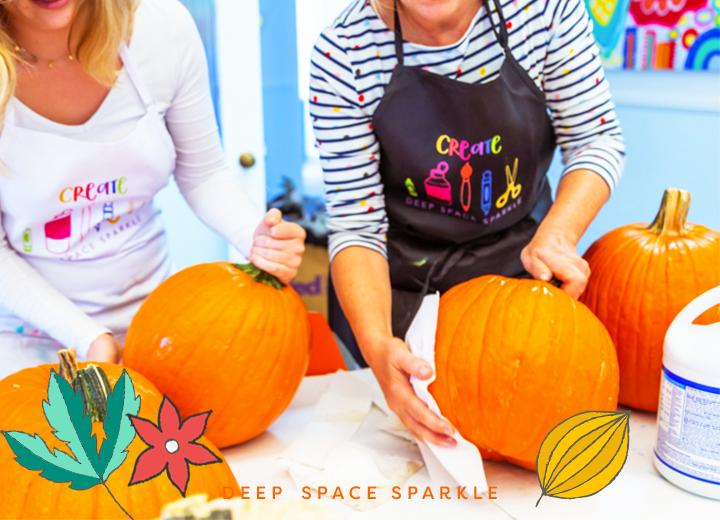 How to paint a pumpkin: Art Tips for Teachers