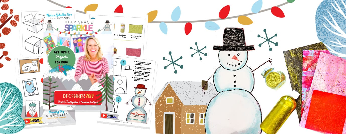 december freebie monthly download art projects