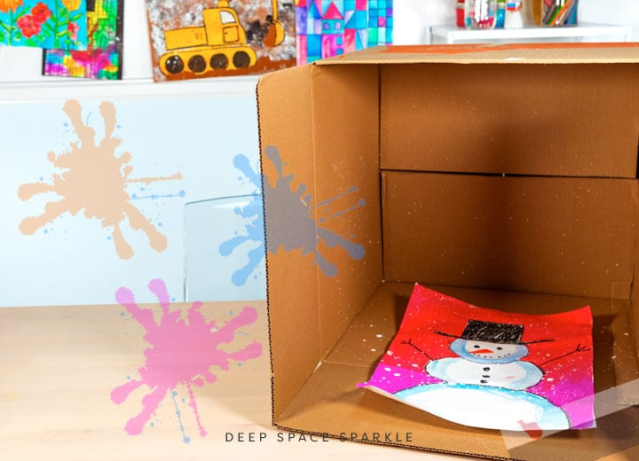 how to make your own splatter box step 1