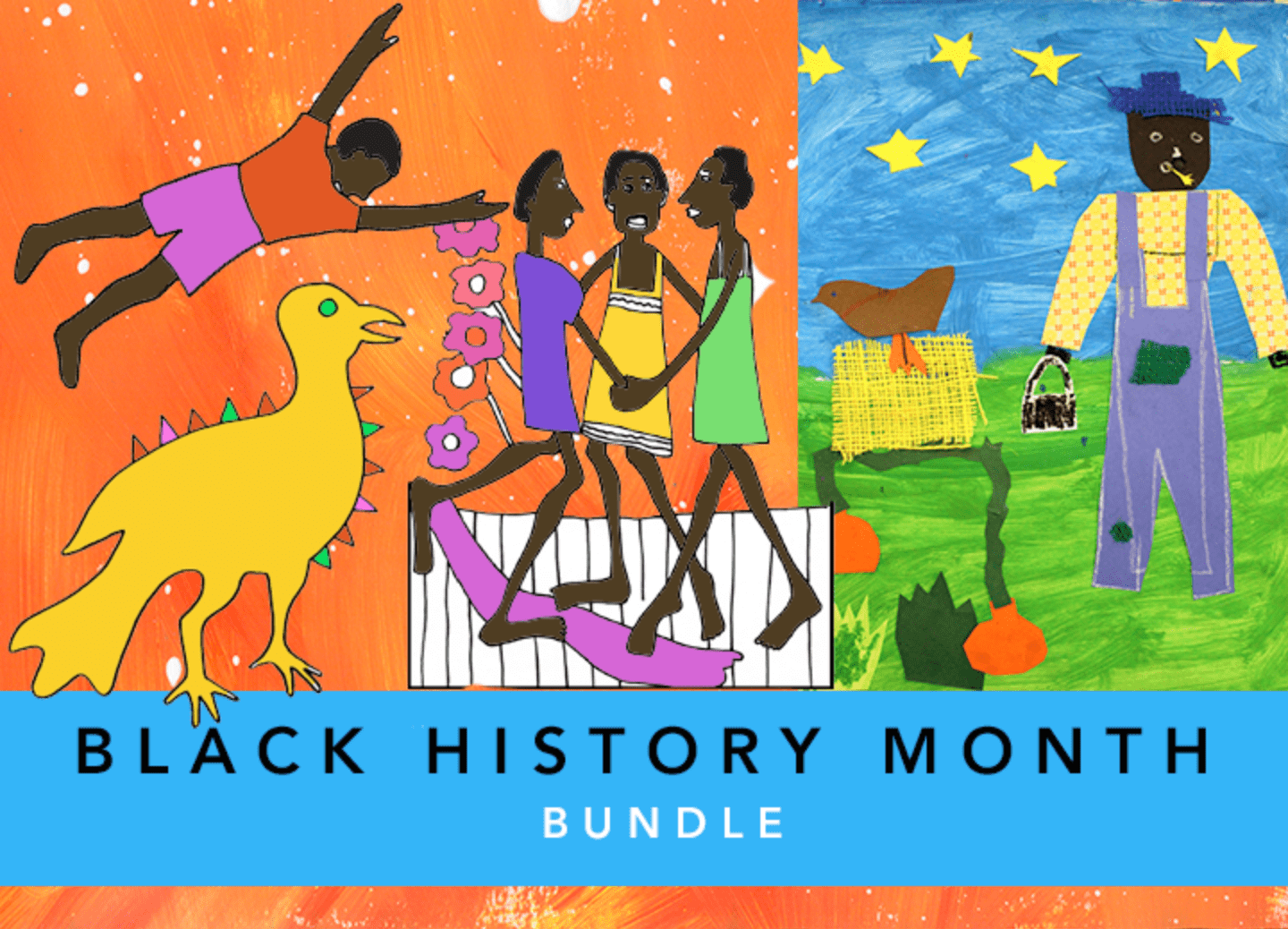 Black History Month bundle for the Sparklers Club