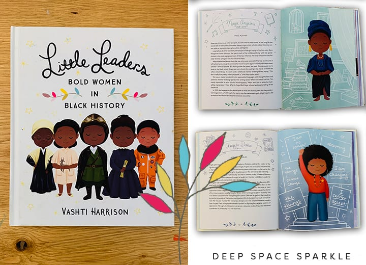Little Leaders, Bold women in Black History- Black history month for kids.