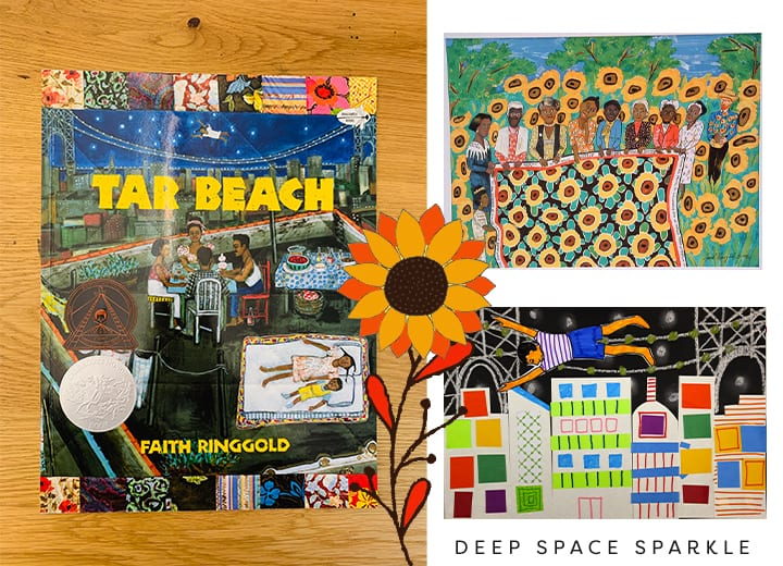 Tar Beach by Faith Ringgold- Black History Month for kids