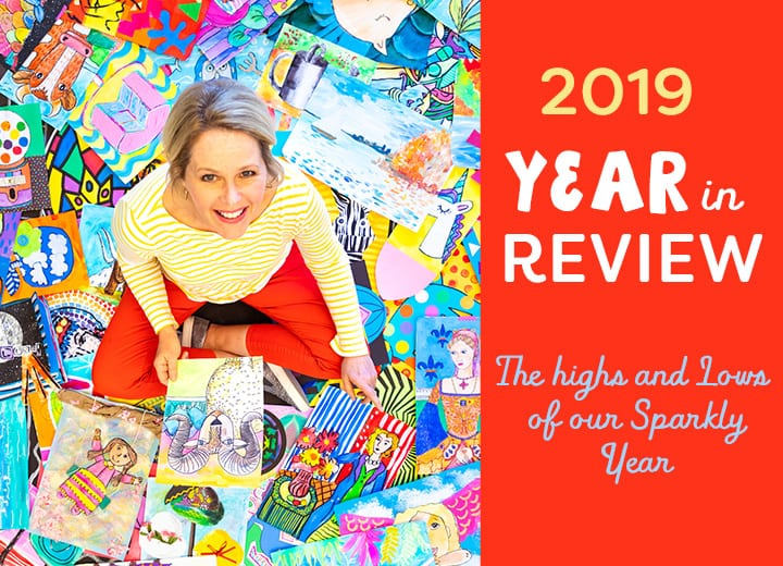 The Year in Review Deep Space Sparkle and Patty Palmer 2019