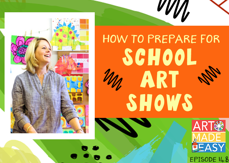 art made easy 148 how to prepare for art shows and family art nights
