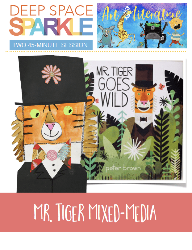 Mr. Tiger art lesson plan for students in second grade with standards