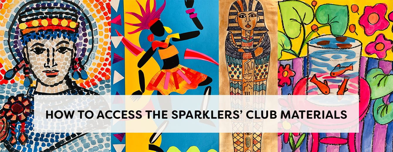 access the sparklers club membership materials