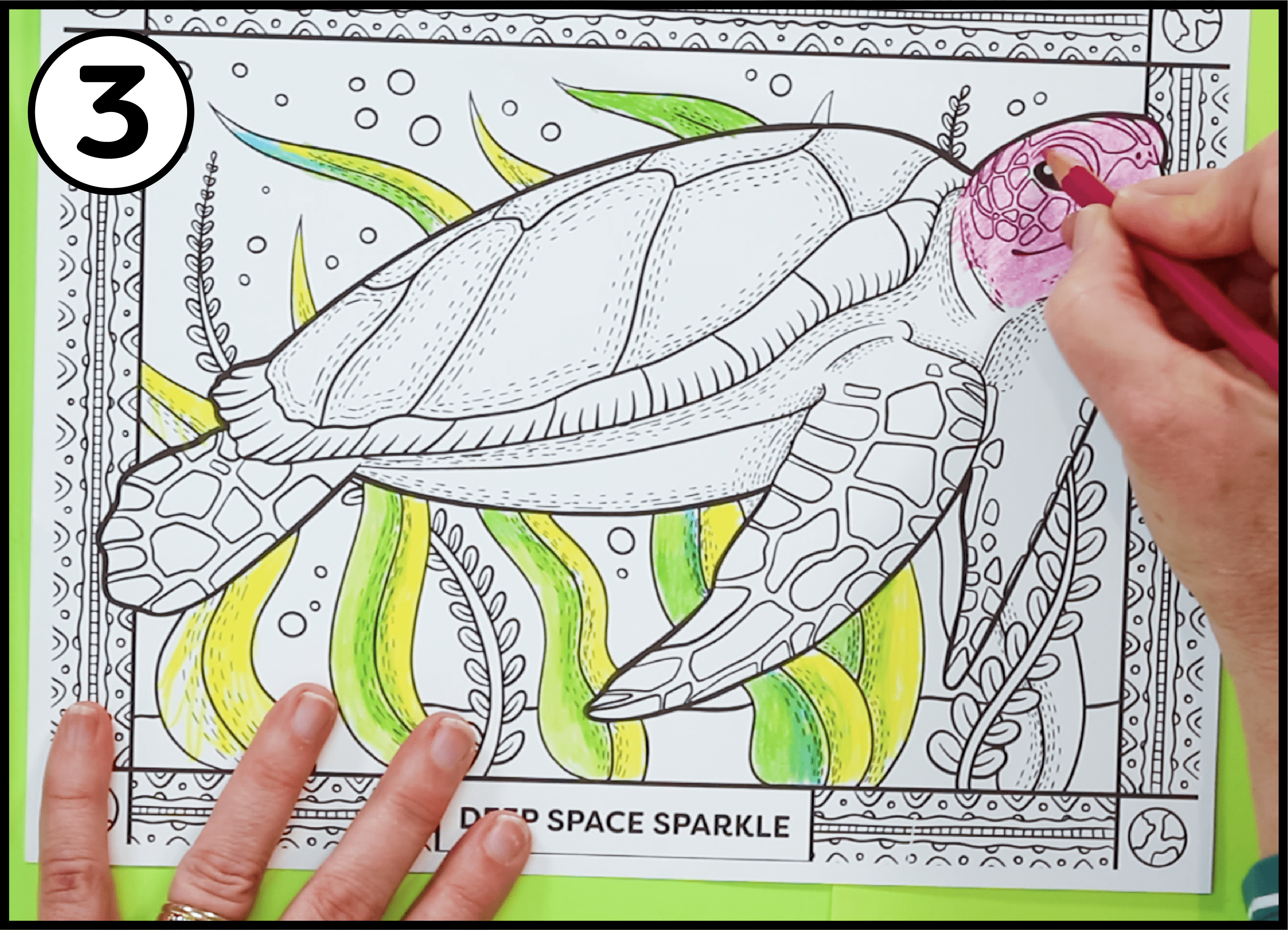 How to color using colored pencils earth day coloring pages for all grade levels