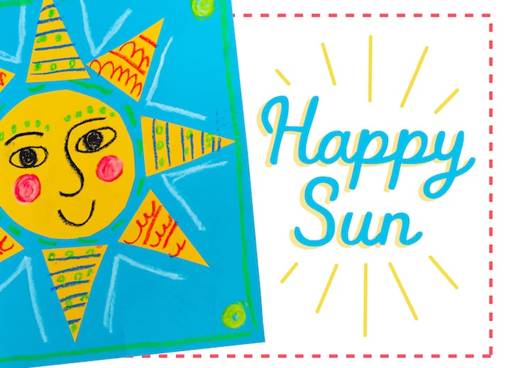 happy sun art from home draw along with patty for all ages