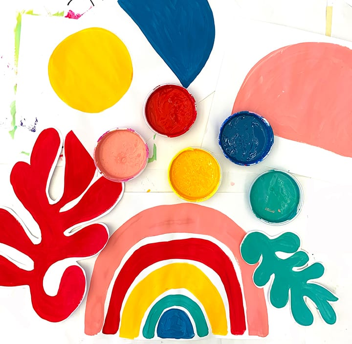 primerry shapes and primerry colors | art membership for families