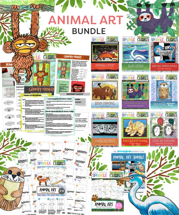 Animal Art Bundle from The Sparklers Club
