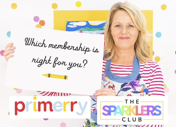 Primerry or The Sparkler's Club | Which art membership is right for you?