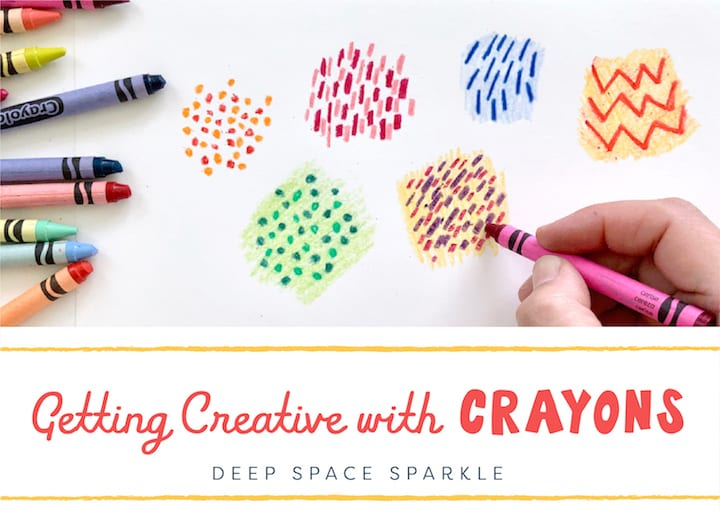 Getting creative with Crayons | Crayon Techniques for Art Teachers