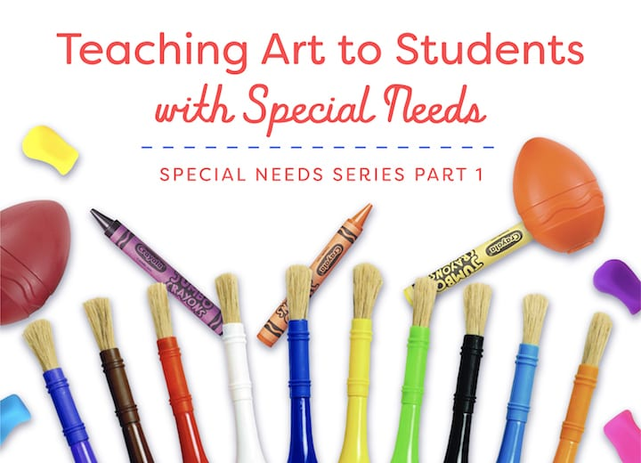 Teaching art to students with special needs free downloadable guide