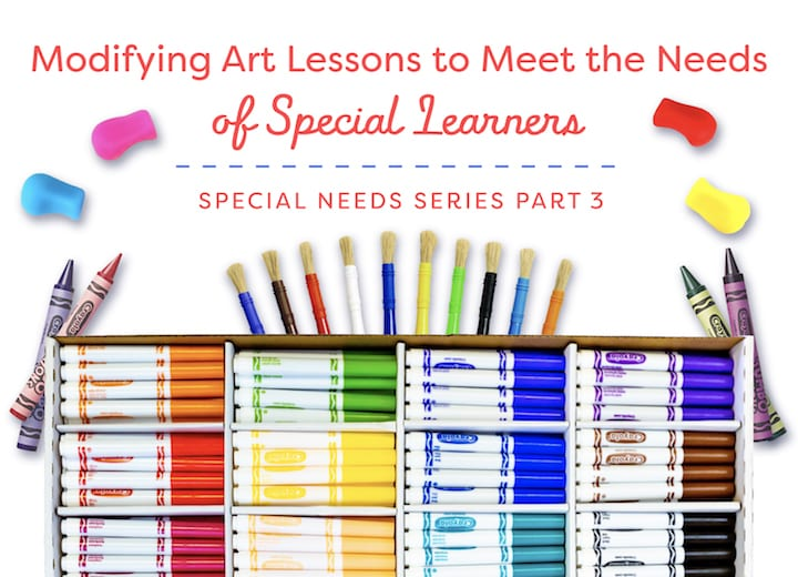 Modifying Art Lessons to Meet the Needs of Special Learners: Part III
