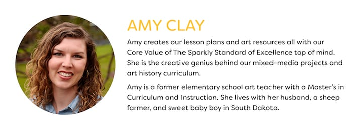 Amy clay team sparkle content creator