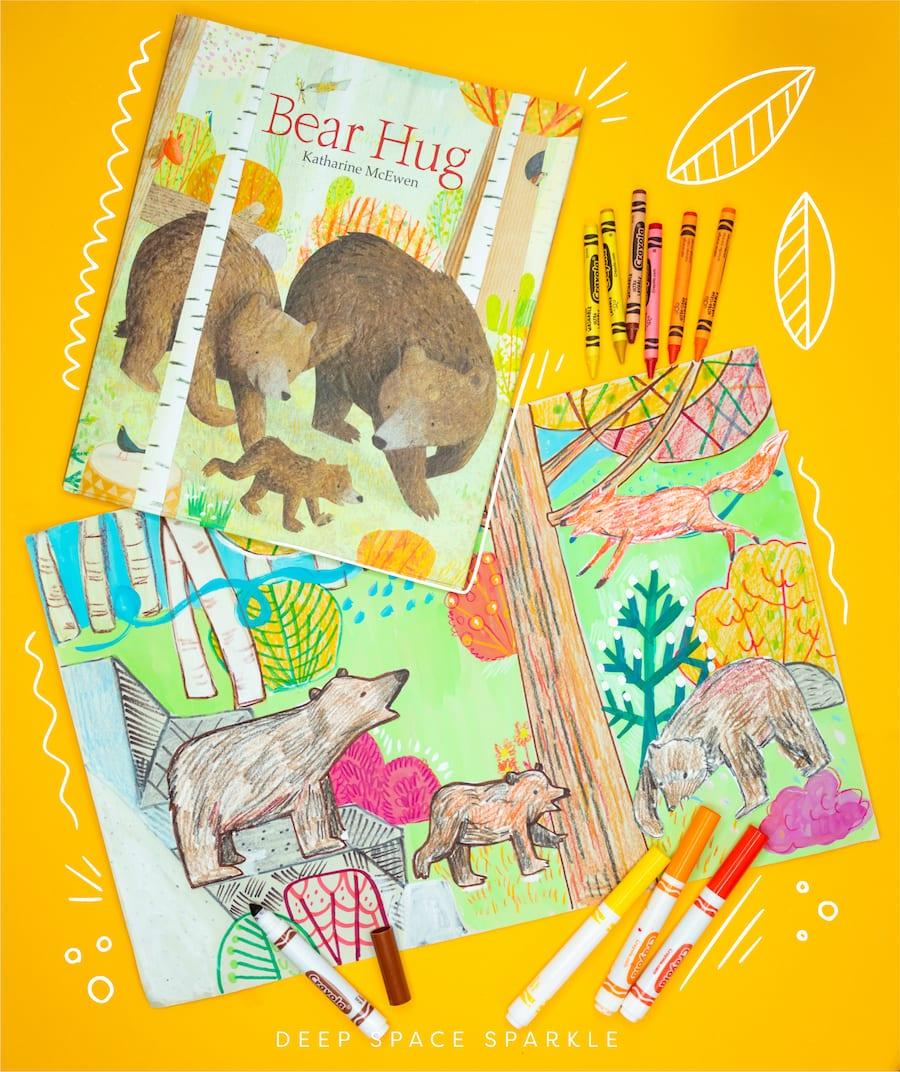 bear hug childrens book for the fall season