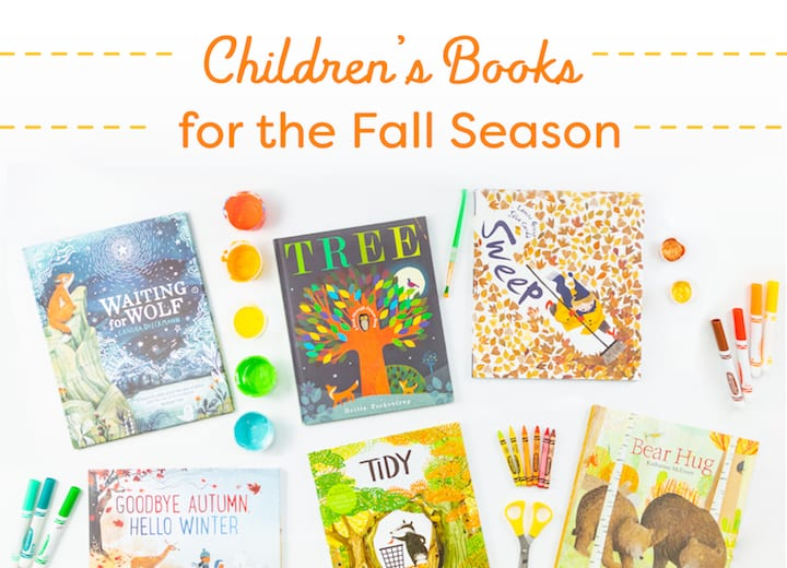The best childrens books for the fall season, fall books for kids