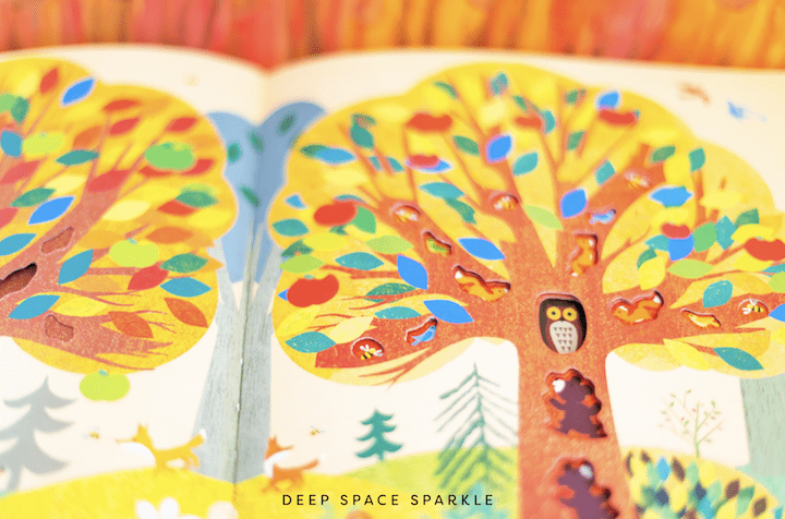 tree childrens book for the fall season