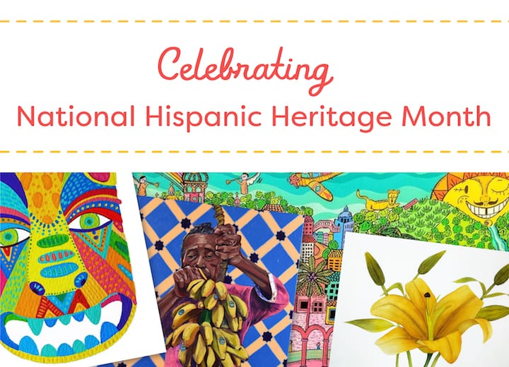 Celebrating National Hispanic Heritage Month: Contemporary Hispanic Artists Your Students Will Love