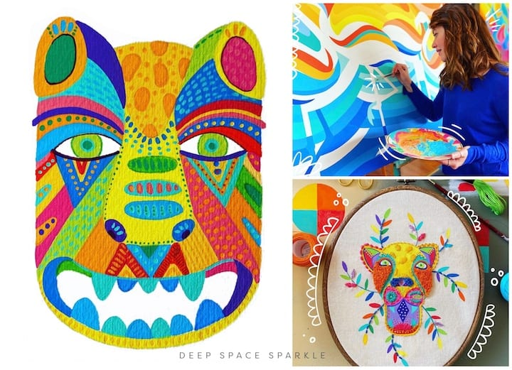 Celebrating National Hispanic Heritage Month: Contemporary Hispanic Artists Your Students Will Love: Lourdes Villagomez