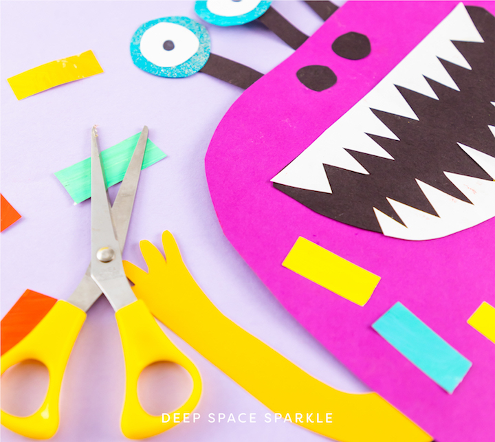 halloween spark-tacular easy holiday art projects for kids on the holidays