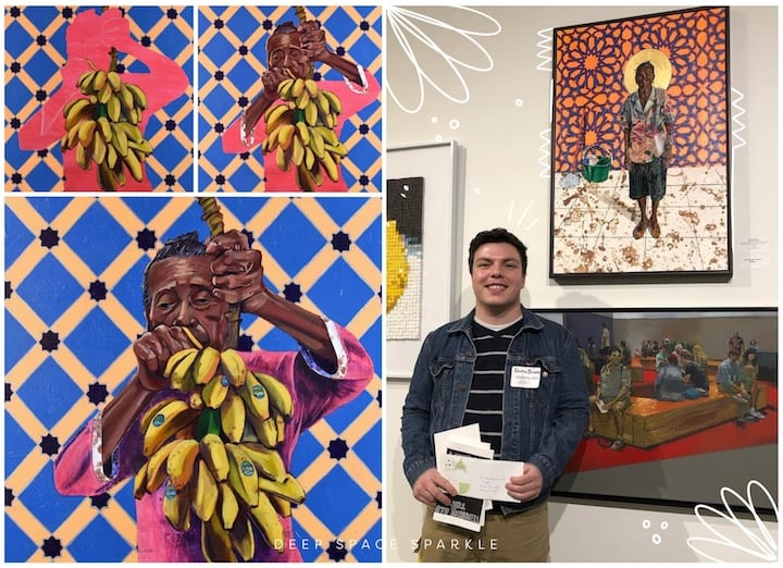 Celebrating National Hispanic Heritage Month: Contemporary Hispanic Artists Your Students Will Love: Quinn Antonio Briceño