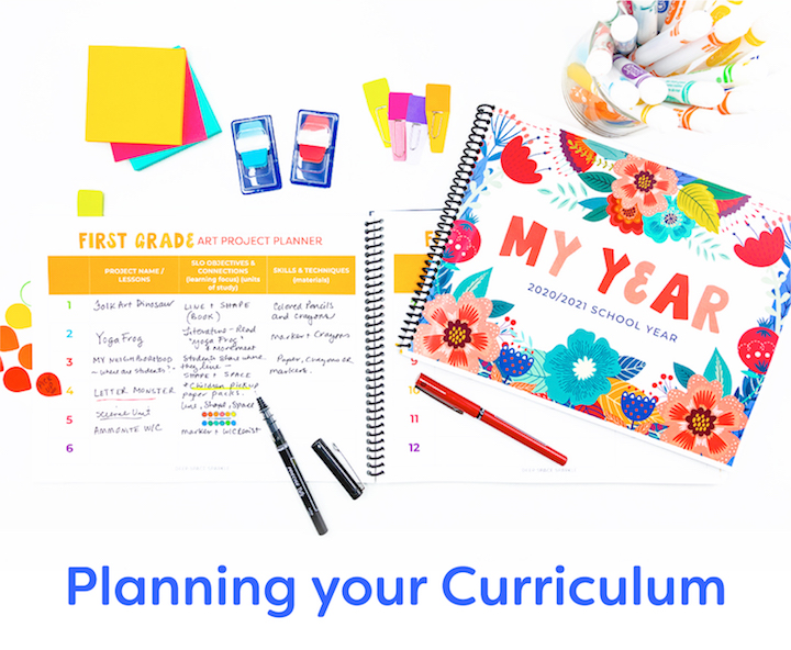 planning your curriculum for your art room