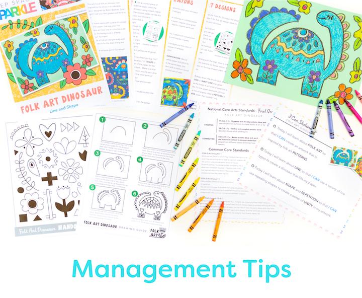 management tips for art teachers