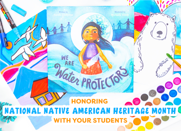 Honoring Native American Heritage Month with your students in the classroom