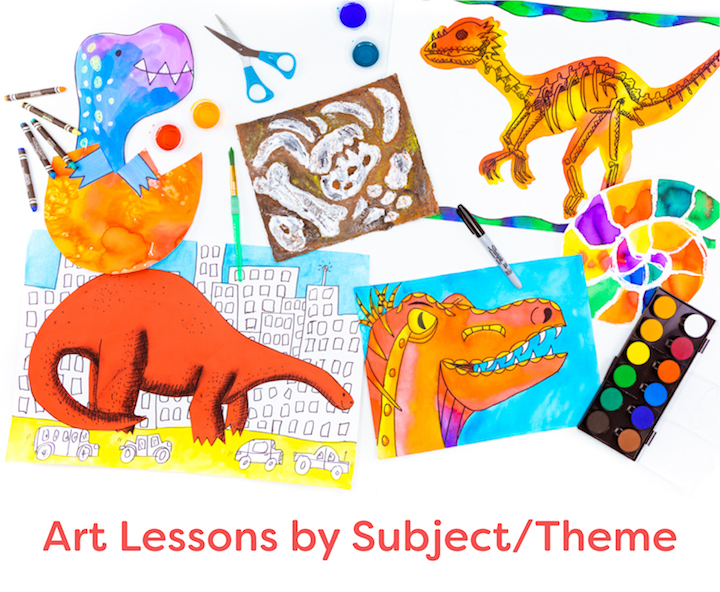 art lessons by subject and theme