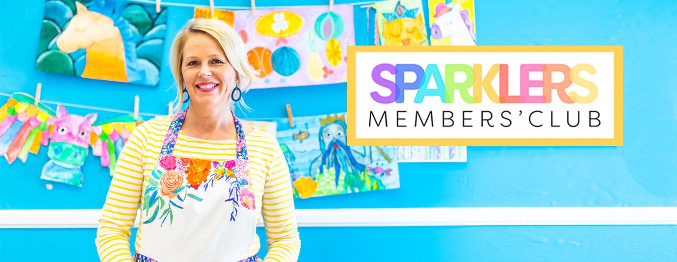 JOIN THE SPARKLERS CLUB   Deep Space Sparkle membership for art teachers