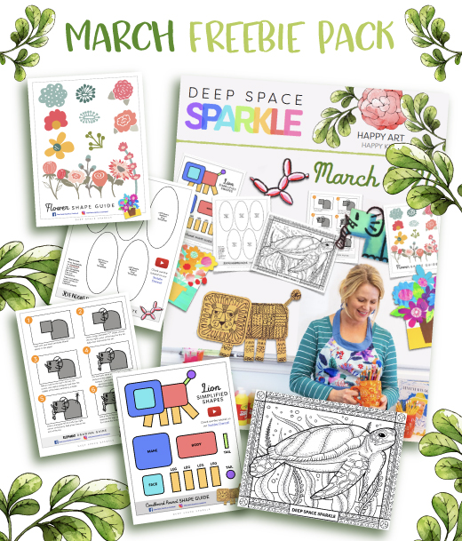march freebie packet lessons for art teachers spring time lessons