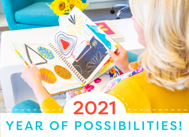 Year of Possibilities Patty Palmer | Deep Space Sparkle