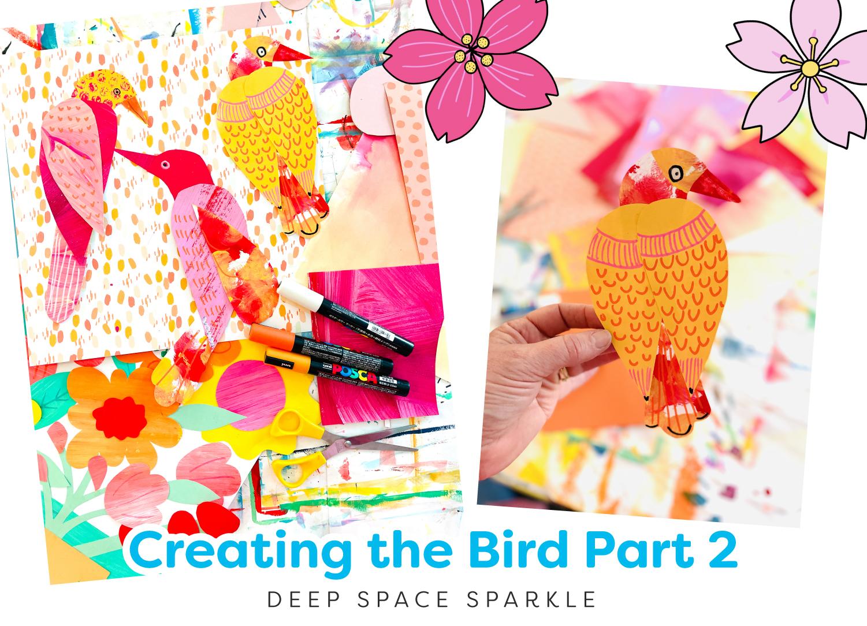 Creating the Bird pt 2 Bird in a Cherry Tree