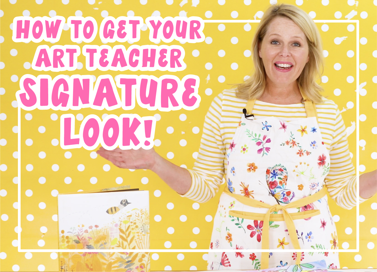 how to get your art teacher signature look with aprons for your art room art teacher