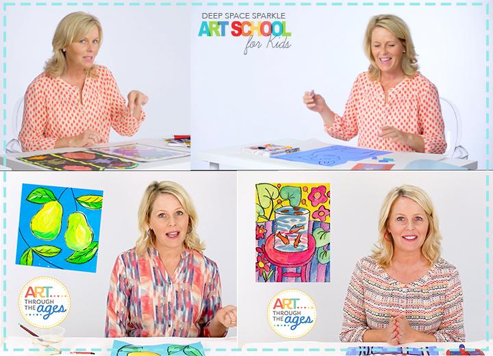 sparkler club art history school lesson videos for kids