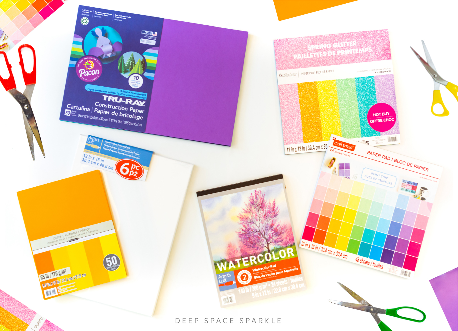 art at home favorite paper picks for kids with free art supply checklist