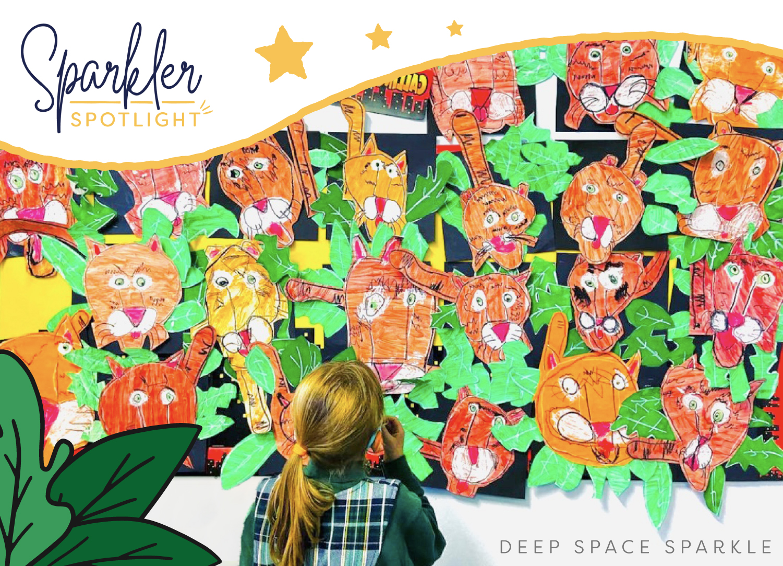Carolyn Schroder Wall of Art sparkler spotlight feature sparklers club